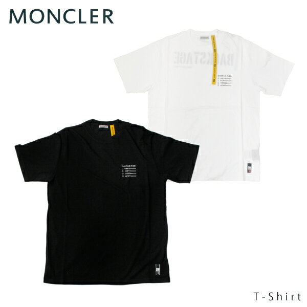 【送料無料】【並行輸入品】【2018-19 AW】『MONCLER GENIUS-モンクレール ジーニアス-』T-Shirt Flagment HIROSHI FUJIWARA [80020508391]