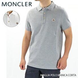 【2019SS】【並行輸入品】『MONCLER-モンクレール-』MAGLIA POLO MANICA CORTA メンズ ポロシャツ 半袖 ワッペン マニカコルタ[83408 00 84556]