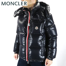 【送料無料】【2019 AW】【並行輸入品】『MONCLER-モンクレール-』MONTBELIARD モンベリアル メンズ ダウンジャケット ブラック ネイビー 無地 ロゴ[41803 05 68950]