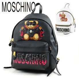 【最大1000円OFFクーポン配布中!9/27迄】MOSCHINO モスキーノ MOSCHINO Back pack A76338210 1555 1001 バックパック リュック ロゴ テディベア レディース