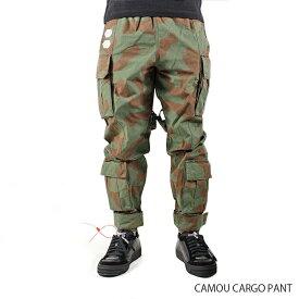 【送料無料】【2019 SS】【新作】『Off-White-オフホワイト-』CAMOU CARGO PANT-カモ カーゴパンツ-〔OMCF004R19A66021〕