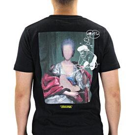 【最大1000円OFFクーポン配布中 買い物マラソン期間限定】Off White オフホワイト MARIANA DE SILVA S/S SLIM TEE メンズ Tシャツ クルーネック 半袖〔OMAA027E19185005〕