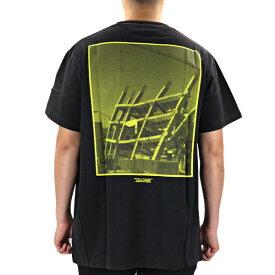 【最大1000円OFFクーポン配布中 買い物マラソン期間限定】Off White オフホワイト HALFTONE S/S OVER TEE メンズ Tシャツ クルーネック 半袖〔OMAA038E19185008〕