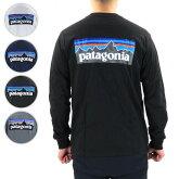 【予約】【並行輸入品】『patagonia-パタゴニア-』M'sLong-SleevedP-6LogoResponsibili-Tee[38518]≪ご注文後3日前後発送予定≫