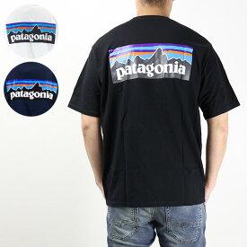 【最大1000円OFFクーポン配布中 買い物マラソン期間限定】【ネコポス配送:1点まで】【お一人様1点まで】patagonia パタゴニア M's P 6 Logo Responsibili Tee[38504]
