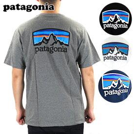 【新色追加!!】patagonia パタゴニア M's Fitz Roy Horizons Responsibili Tee[38501]