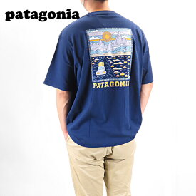 【ネコポス配送:1枚迄】Patagonia パタゴニア Mens Summit Road Organic T-Shirt 38537 CNY メンズ 半袖 Tシャツ トップス フェアトレード・サーティファイド 縫製