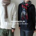 【NEW】『Pompadour-ポンパドール-』Cashmere Wool Muffler-カシミア ウール マフラー-[レディース メンズ ユニセック…