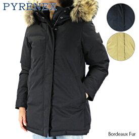 【送料無料】【2019 AW】【並行輸入品】『Pyrenex-ピレネックス-』Bordeaux Fur ボルドー ファー ダウンコート〔HWM048〕