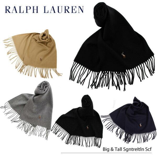 【並行輸入品】『POLO RALPH LAUREN-ポロ・ラルフローレン-』Big&Tall Signature Scarf [6F0342][メンズ マフラー]
