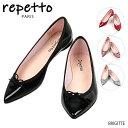 【2019SS】【並行輸入品】『repetto-レペット-』BRIGITTE Patent [V1556V] ブリジット パテント パンプス