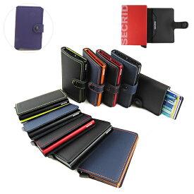 【最大1000円OFFクーポン配布中 8/1迄】SECRID セクリッド Mini Wallet MATTE ミニ ウォレット マット ミニマル カードケース クレジットカードケース スキミング防止 メンズ レディース ユニセックス