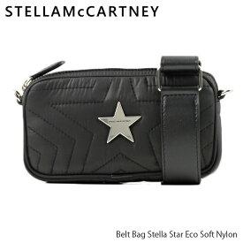 【送料無料】【2019 AW】【並行輸入品】『STELLA McCARTNEY-ステラマッカートニー-』Belt Bag Stella Star Eco Soft Nylon [581258W8540]