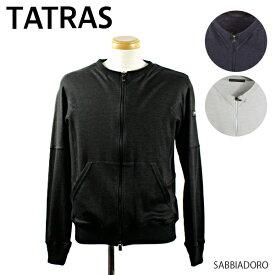 TATRAS タトラス SABBIADORO サッビアドーロ ブルゾン ジップアップ カーデ メンズ カーディガン 薄手[MTK19S8003]