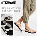 『TEVA-テバ-』Original Universal Leather Metallic [1007549]【キズ有り】[レディース スポーツ サンダル メタリッ…