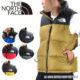 【2019 AW】【並行輸入品】『THE NORTH FACE-ノースフェイス-』M 1996 RETRO NUPTSE VEST レトロ ヌプシ ダウンベスト メンズ アウター〔NF0A3JQQ〕