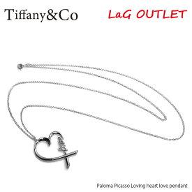 【予約】【送料無料】『Tiffany&Co-ティファニー-』Paloma Picasso Loving heart love pendant-パロマピカソ ラヴィング ハート ラブペンダント-〔37721271〕【ご注文後3日前後発送予定】【お買い物マラソン!ポイント最大44倍!】