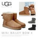 【送料無料】【2017 AW】『UGG-アグ-』Mini Bailey Bow II[1016501][ ミニ ベイリーボウII ムートン ブーツ バック …