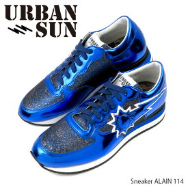 【並行輸入品】『URBAN SUN-アーバンサン-』Sneaker メンズ ALAIN114 アレイン スニーカー ローカット ブルー