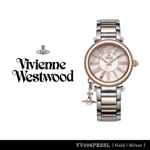 【エントリーで最大P30倍! 8月20日0時〜8月20日23時59分迄】【送料無料】【並行輸入品】『Vivienne Westwood-ヴィヴィアンウエストウッド-』Orb 腕時計 [VV006PRSSL][レディース オーブ ゴールド シルバー 腕時計 ウォッチ ]