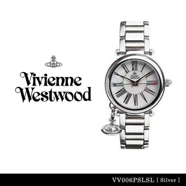 【送料無料】【並行輸入品】『Vivienne Westwood-ヴィヴィアンウエストウッド-』Orb 腕時計 [VV006PSLSL][レディース オーブ シルバー 腕時計 ウォッチ ]