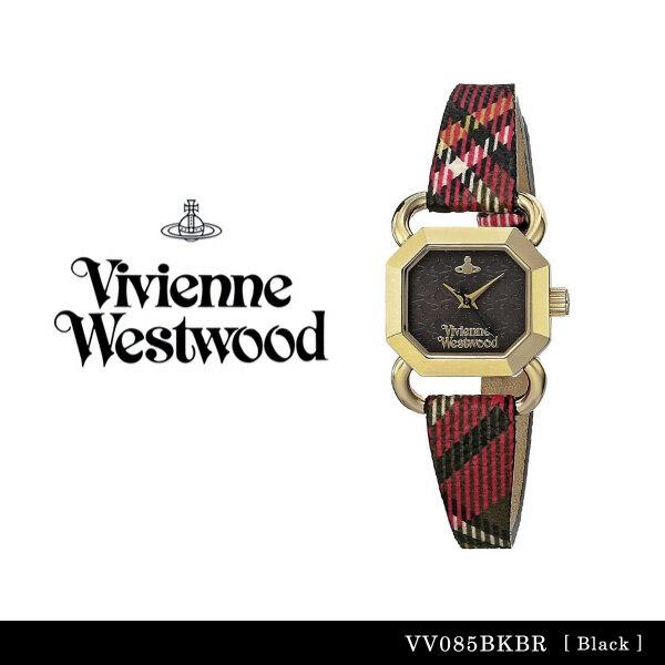 【送料無料】【並行輸入品】『Vivienne Westwood-ヴィヴィアンウエストウッド-』Ravenscourt 腕時計 [VV085BKBR][レディース レイヴンズコート ブラック チェック柄 腕時計 ウォッチ ]