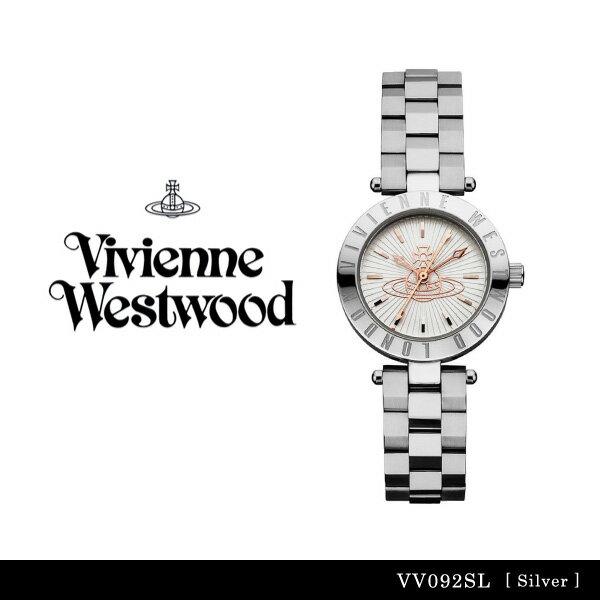 【送料無料】【並行輸入品】『Vivienne Westwood-ヴィヴィアンウエストウッド-』Westbourne 腕時計 [VV092SL][レディース ウェストボーン シルバー 腕時計 ウォッチ ]