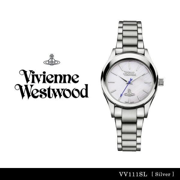【送料無料】【並行輸入品】『Vivienne Westwood-ヴィヴィアンウエストウッド-』Holloway 腕時計 [VV111SL][レディース ホロウェイ シルバー 腕時計 ウォッチ ]