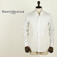 ROBERTOMAULICIODASWEEP!!ロベルトマウリシオバイスウィープ!!ストレッチブロードシャツBroadStretch(ホワイト)