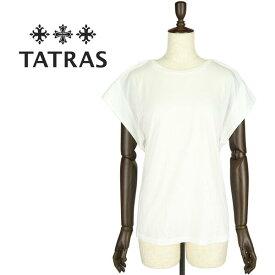 【クリアランスセール20%OFF】TATRAS タトラス レディース カットソー MONEGLIA LTK19S8014 WHITE(ホワイト)【返品交換不可】special priceAL