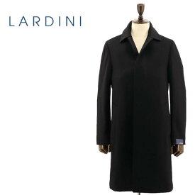LARDINI ラルディーニ メンズ ウール 5B ステンカラーコート JQ23099A/ILRP53693/4(ブラック)