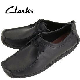 クラークス オリジナルズ CLARKS ORIGINALS メンズ ナタリー レザー ドライビングシューズ NATALLE 26133272 BLACK LEATHER(ブラック)