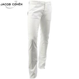 2020年春夏新作 国内正規品 JACOB COHEN ヤコブコーエン メンズ ストレッチ 5ポケット タイトフィット ストレート ホワイトデニム J622 COMF 1863-V 10361 00(ホワイト)