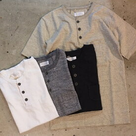 ORGUEIL(オルゲイユ)【OR-9013】【HENLY T-SHIRT】ヘンリーネック無地TシャツCOTTON100%/ MADE IN JAPANネコポス(\300)発送可能