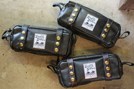 """送料無料!【smtb-tk】Langlitz Leathers (ラングリッツレザー)【10""""Touring Bag Double Strap】≪TYPE B≫ダブルストラップ ツーリングバック"""