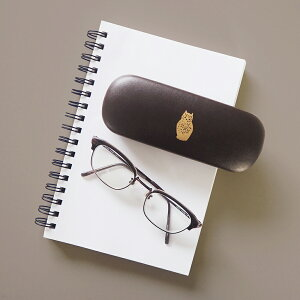 Point Glasses Case ワンポイント メガネケース|眼鏡ケース コンパクト シンプル
