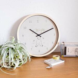 SYLVANシルヴァンウォールクロック|壁掛け時計「Bear」