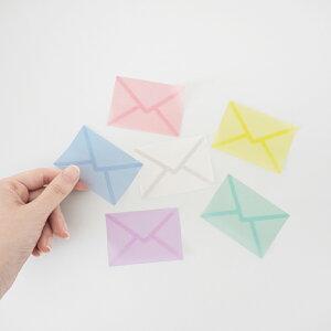 ilma イルマ グラシンふせん  メール便対応 付箋 透明 メモ