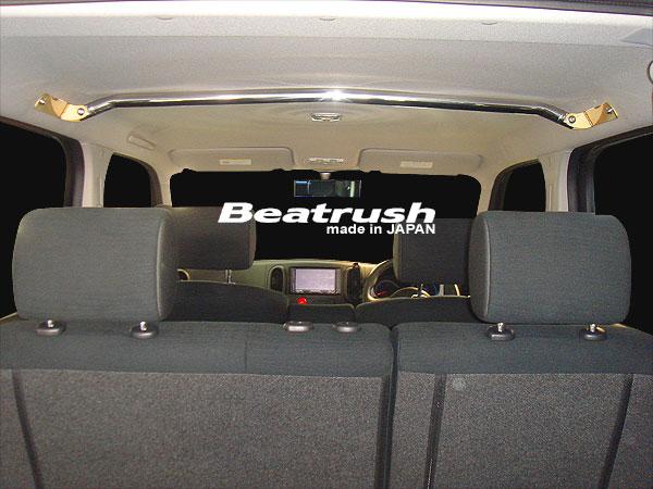 Beatrush フロントワゴンバー ニッサン キューブ[Z12] ※サンルーフ車、ガラスルーフ車取付不可【送料無料】  * LAILE レイル