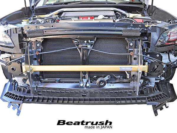Beatrush フロントフレームトップバー スバル WRX Sti [VAB]、レヴォーグ [VMG] 【送料無料】  * LAILE レイル