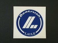 オリジナルカッティングステッカー青/1枚切り文字タイプ90mm*LAILEレイル