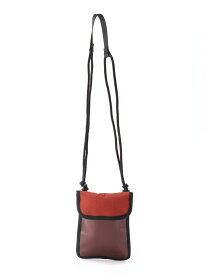 【SALE/47%OFF】(M)PVCコンビショルダー LAKOLE ラコレ バッグ ショルダーバッグ オレンジ パープル ブラック【RBA_E】[Rakuten Fashion]