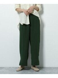 【SALE/35%OFF】(W)シアージョーゼットPT LAKOLE ラコレ パンツ/ジーンズ フルレングス グリーン ブルー レッド ブラウン【RBA_E】[Rakuten Fashion]
