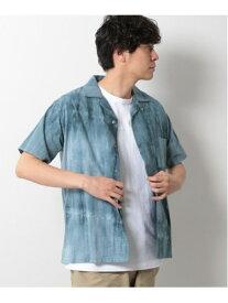 【SALE/30%OFF】(M)タイダイSSSH LAKOLE ラコレ カットソー Tシャツ グリーン ブルー ベージュ【RBA_E】[Rakuten Fashion]