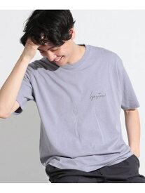 【SALE/23%OFF】(M)スペースT LAKOLE ラコレ カットソー Tシャツ ブルー ブラウン ホワイト【RBA_E】[Rakuten Fashion]