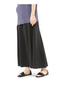【SALE/58%OFF】(W)エアリーフレアロングスカート LAKOLE ラコレ スカート ロングスカート ブラック ブルー ブラウン【RBA_E】[Rakuten Fashion]