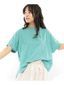 【SALE/37%OFF】(W)40CダブカフワイドT LAKOLE ラコレ カットソー Tシャツ グリーン ホワイト ブラウン ベージュ パープル グレー【RBA_E】[Rakuten Fashion]