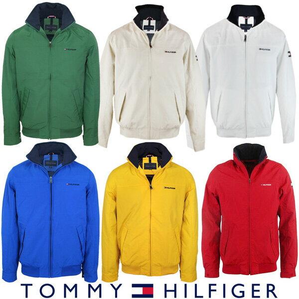 トミーヒルフィガー Tommy Hilfiger メンズ ナイロン ジャケット アウター ファッション レッド