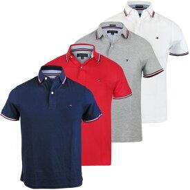 トミーヒルフィガー Tommy Hilfiger メンズ ポロシャツ ワンポイント ロゴ 半袖 ファッション トップス 定番 人気