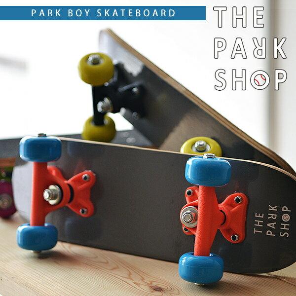 THE PARK SHOP ( ザ パークショップ ) PARK BOY SKATEBOARD パークボーイ スケートボード キッズ スケボー インテリア プレゼント 遊び心を刺激。大人も喜ぶキッズスケボー。 デッキ コンプリート 子供 トラック ウイール 初心者 オリジナル